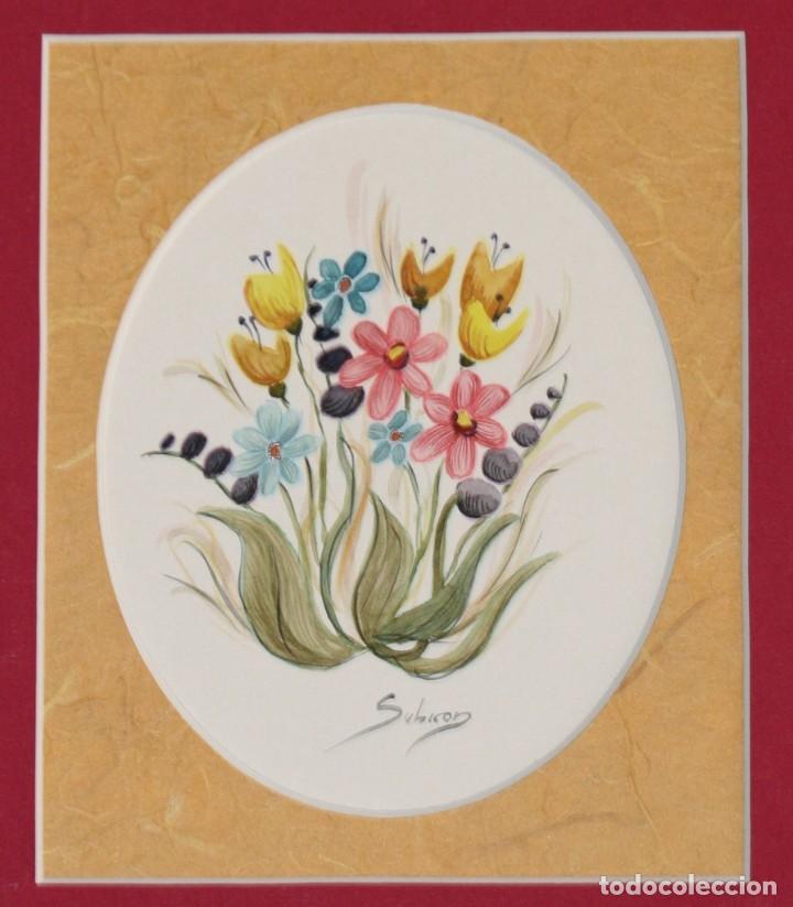 Arte: Acuarelas de flores( pareja) - Foto 4 - 200738545