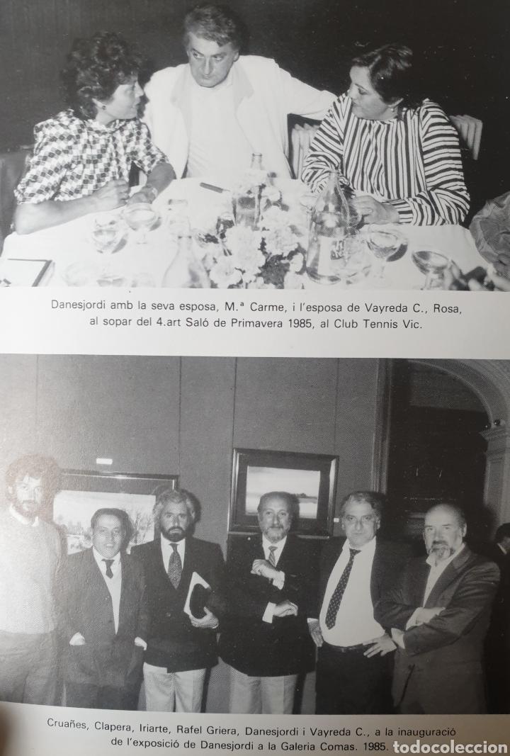Arte: Danés Jordi (Olot, 1935-2006) - Paisaje con Figuras.Firmado.Dedicado a Vayreda C.1955. - Foto 5 - 201276250