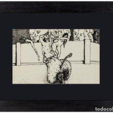 Arte: JORGE CASTILLO TINTA AGUADA SIN TITULO. Lote 201771933