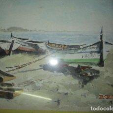 Arte: PINTOR DE ALICANTE MANUEL REIG ANTIGUA PINTURA ALICANTINA ACUARELA FIRMADO. Lote 135268118