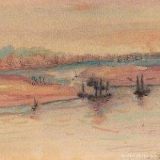 Arte: PHILIPS DA CONICK S.XVII - FIRMADO Y FECHADO 1760 - MARINA - 20*32CM (42*54CM). Lote 202557371