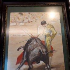 Arte: ACUARELA MANOLETE F. RODRIGO. Lote 203299578