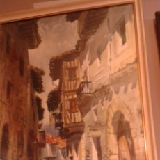 Arte: ACUARELA DE VICENTE PASTOR CALPENA FECHADA EN 1966. Lote 203969715