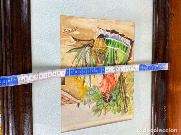 Arte: CUADRO DEL PINTOR MURCIANO JORGE MONLLOR - años 40 - Murcia - Foto 7 - 204255907