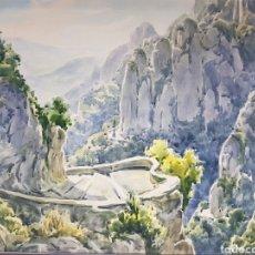 Art: MONTSERRAT POR JOAN PELFORT I PLANELL (1915-2003). Lote 204761487