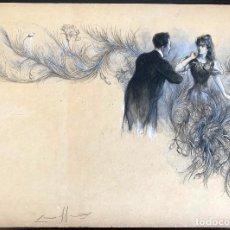 Arte: NICANOR VÁZQUEZ (1861-1930) ILUSTRACIÓN. Lote 205561500