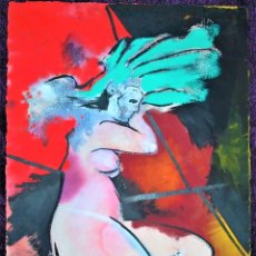 Arte: DESNUDO SURREALISTA DE MUJER. FRANCESC VILAPLANA (BARCELONA, 1945). Lote 206245722