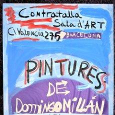 Arte: DOMINGO MILLÁN (ALCOY, 1947 - 2016). Lote 206246486