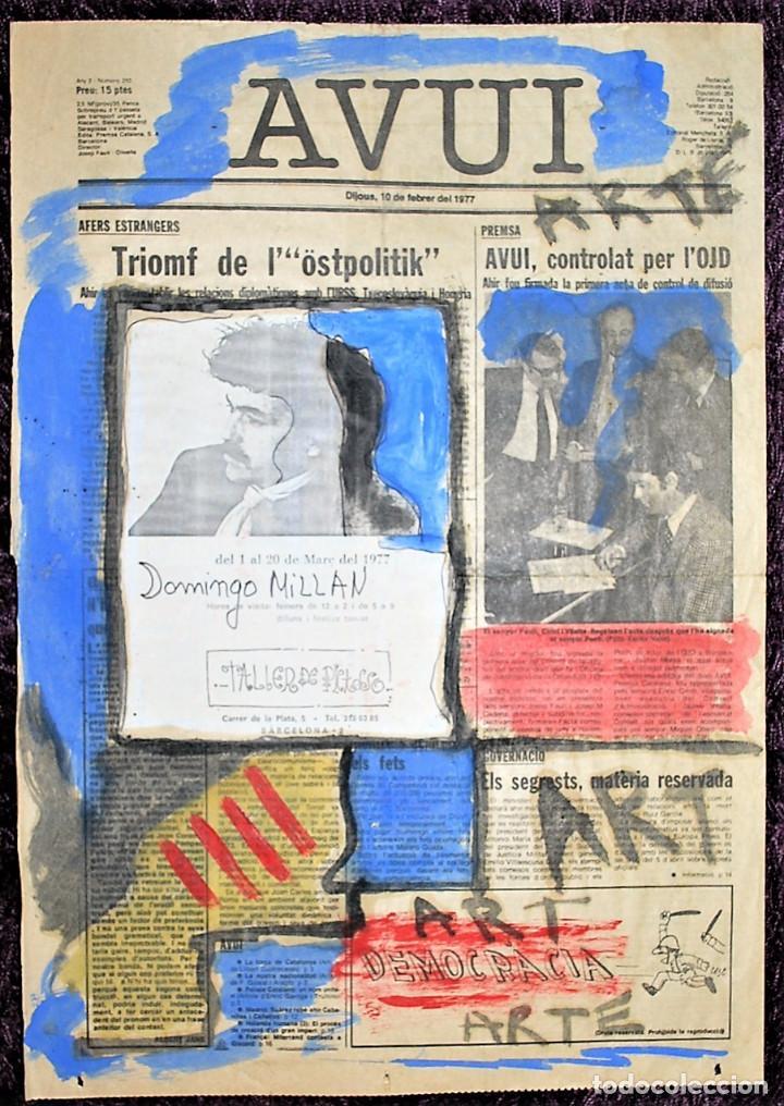 DOMINGO MILLÁN (ALCOY, 1947 - 2016) (Arte - Acuarelas - Contemporáneas siglo XX)