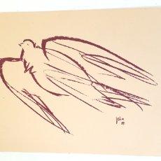 Arte: OBRA FIRMADA ANTIGUA. Lote 206259897