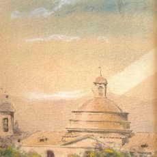 Arte: RICARDO MARTÍ AGUILÓ (1857-1935) PARQUE - 1909. Lote 206920386