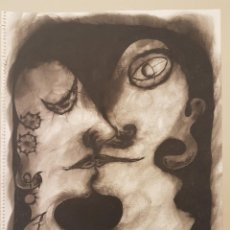 Arte: LLUIS PEÑARANDA I PONS, (1947-2010), DIBUJO ORIGINAL, ACUARELA Y TINTA AGUADA, (41X32). Lote 206968691
