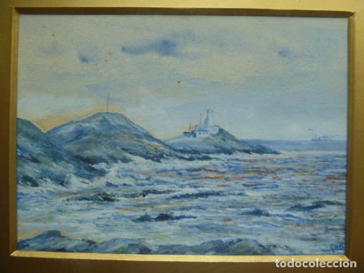 Arte: GEORGE HENDRIK BREITNER ORIGINAL MARINE WATERCOLOR HOLAND PAINTING MUSEUM PIECE HIGH COLLECTION - Foto 3 - 206989081
