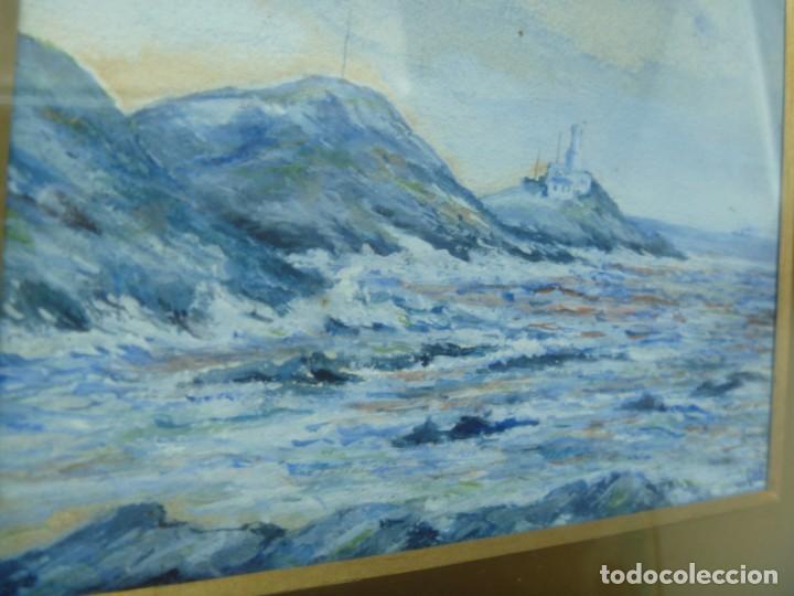 Arte: GEORGE HENDRIK BREITNER ORIGINAL MARINE WATERCOLOR HOLAND PAINTING MUSEUM PIECE HIGH COLLECTION - Foto 9 - 206989081