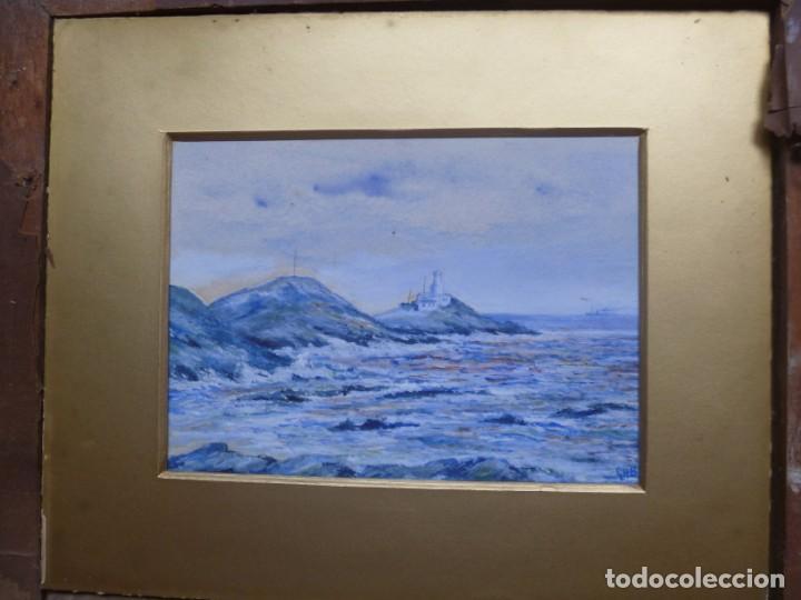 Arte: GEORGE HENDRIK BREITNER ORIGINAL MARINE WATERCOLOR HOLAND PAINTING MUSEUM PIECE HIGH COLLECTION - Foto 28 - 206989081