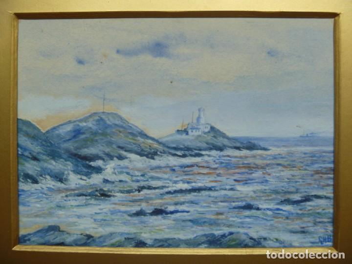 Arte: GEORGE HENDRIK BREITNER ORIGINAL MARINE WATERCOLOR HOLAND PAINTING MUSEUM PIECE HIGH COLLECTION - Foto 29 - 206989081