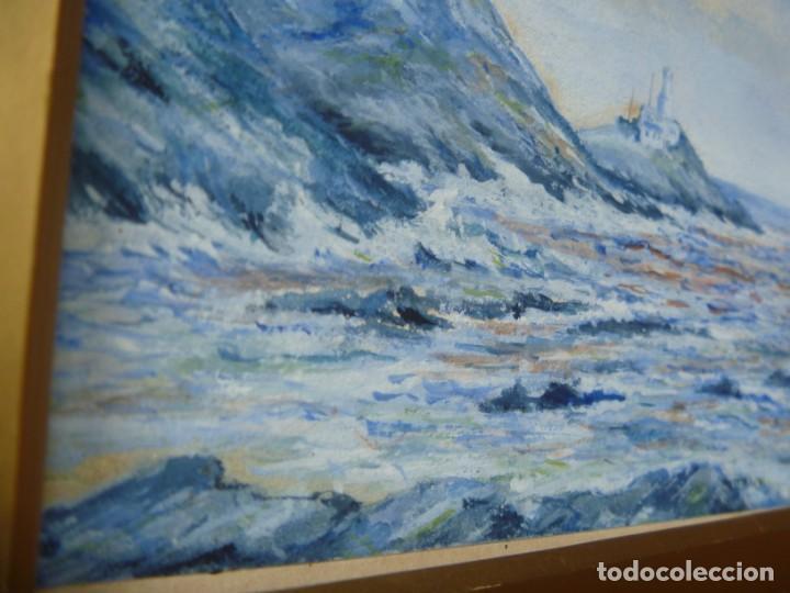 Arte: GEORGE HENDRIK BREITNER ORIGINAL MARINE WATERCOLOR HOLAND PAINTING MUSEUM PIECE HIGH COLLECTION - Foto 30 - 206989081