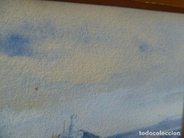 Arte: GEORGE HENDRIK BREITNER ORIGINAL MARINE WATERCOLOR HOLAND PAINTING MUSEUM PIECE HIGH COLLECTION - Foto 31 - 206989081