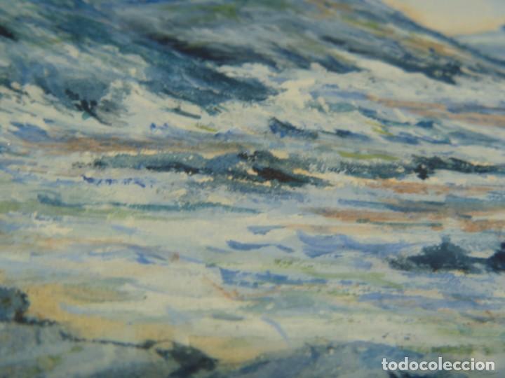 Arte: GEORGE HENDRIK BREITNER ORIGINAL MARINE WATERCOLOR HOLAND PAINTING MUSEUM PIECE HIGH COLLECTION - Foto 34 - 206989081