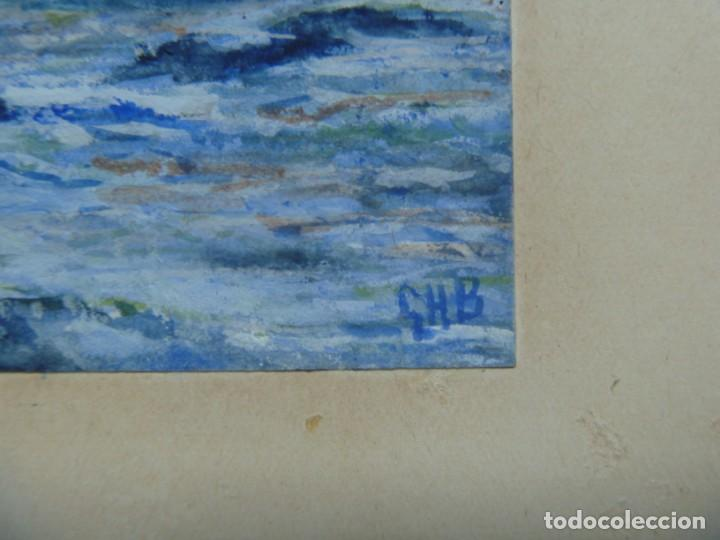 Arte: GEORGE HENDRIK BREITNER ORIGINAL MARINE WATERCOLOR HOLAND PAINTING MUSEUM PIECE HIGH COLLECTION - Foto 38 - 206989081