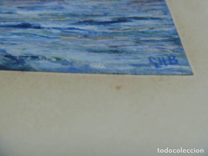 Arte: GEORGE HENDRIK BREITNER ORIGINAL MARINE WATERCOLOR HOLAND PAINTING MUSEUM PIECE HIGH COLLECTION - Foto 39 - 206989081