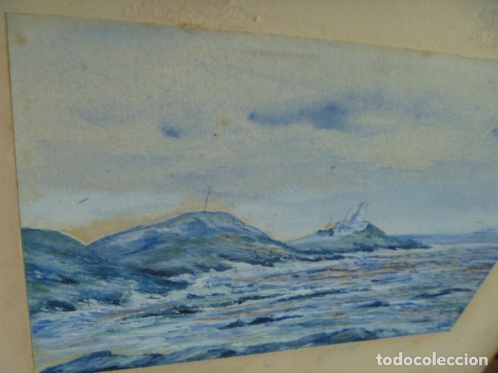 Arte: GEORGE HENDRIK BREITNER ORIGINAL MARINE WATERCOLOR HOLAND PAINTING MUSEUM PIECE HIGH COLLECTION - Foto 40 - 206989081