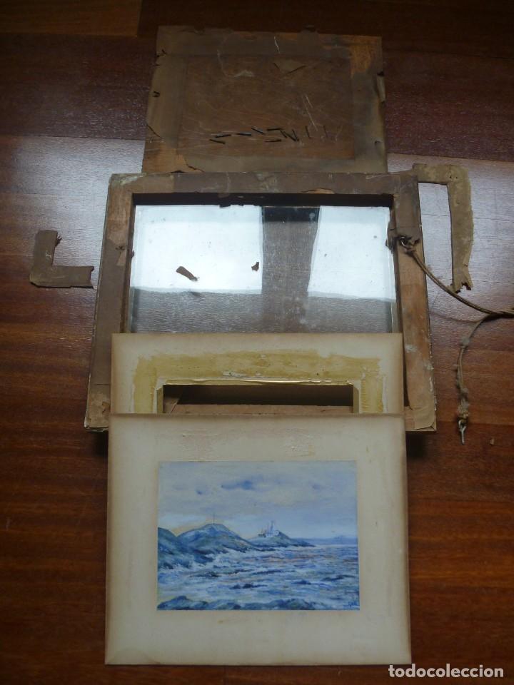 Arte: GEORGE HENDRIK BREITNER ORIGINAL MARINE WATERCOLOR HOLAND PAINTING MUSEUM PIECE HIGH COLLECTION - Foto 43 - 206989081