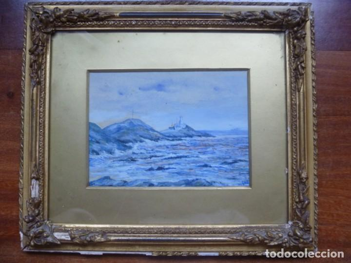 Arte: GEORGE HENDRIK BREITNER ORIGINAL MARINE WATERCOLOR HOLAND PAINTING MUSEUM PIECE HIGH COLLECTION - Foto 45 - 206989081