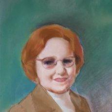 Arte: RETRATO POR ALBERTO DUCE VAQUERO (ZARAGOZA 1915-2003). Lote 207002061