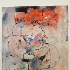 Arte: MIQUEL TORNER DE SEMIR, (1938), DIBUJO TINTA Y ACUARELA SOBRE PAPEL, (41X34). Lote 207004008