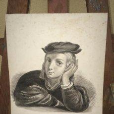 Arte: ACUARELA RAFAEL C. 1900. Lote 207047670