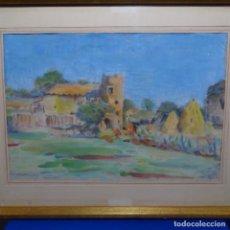 Arte: ACUARELA DEL PINTOR DE TERRASSA ANTONI BADRINAS I ESCUDE.. Lote 207446940
