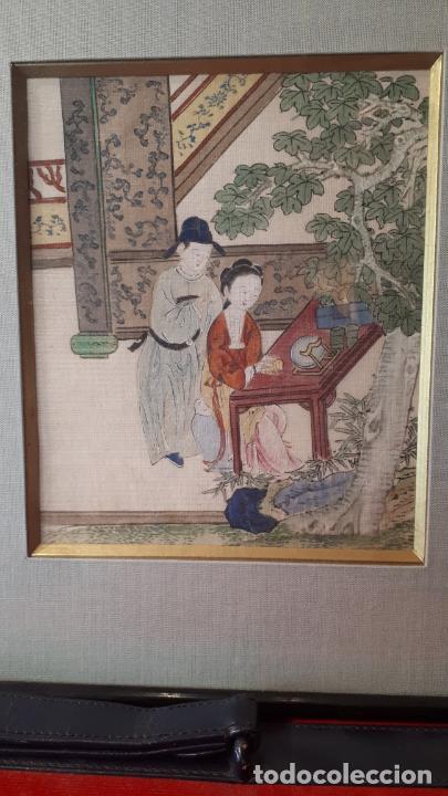 Arte: PINTURAS ERÓTICAS,JAPÓN S.XIX. - Foto 4 - 207807205