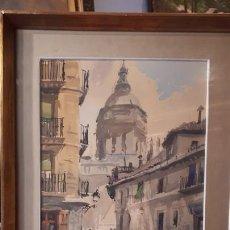 Arte: ACUARELA. RICARDO SACRISTÁN.. Lote 207862818