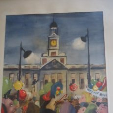 Arte: ILUSTRACION ORIGINAL PARA PORTADA DE REVISTA. FIRMADA A. MARTANO. Lote 207863457