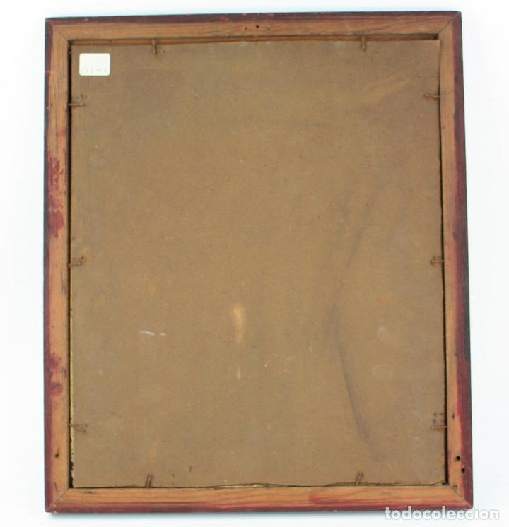 Arte: Apel·les Mestres, acuarela, personajes en el campo, 1893, dedicado al fotógrafo Emilio Fernández. - Foto 6 - 208223861
