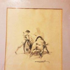 Arte: ALFREDO SANCHÍS CORTÉS (VALENCIA 1932-2014) PASE ACUARELA 41 X 32 CM.. Lote 208930730