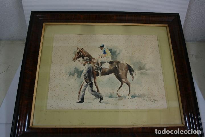 RAFAEL ESTRANY I ROS (MATARÓ, 1884 - BARCELONA, 1958) ACUARELA PAPEL (Arte - Acuarelas - Contemporáneas siglo XX)