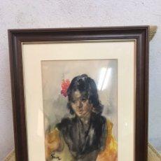 Art: ACUARELA FIRMADA POR GUMERSINDO SAINZ DE MORALES. Lote 209125990