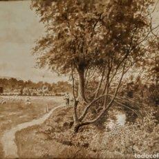 Arte: ACUARELA FIRMADA G.A.MACDONALD 1910. Lote 209820932