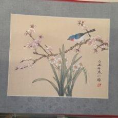 Arte: SEDA PINTADA JAPON. Lote 210523451