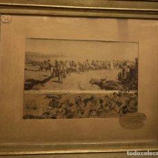 Arte: PERSONAJES POR JOSÉ BLANCO CORIS (MÁLAGA 1862-1946). Lote 211589771
