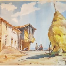 Arte: PAISAJE POR RAMÓN NOÉ HIERRO (1923-2007). Lote 212011602