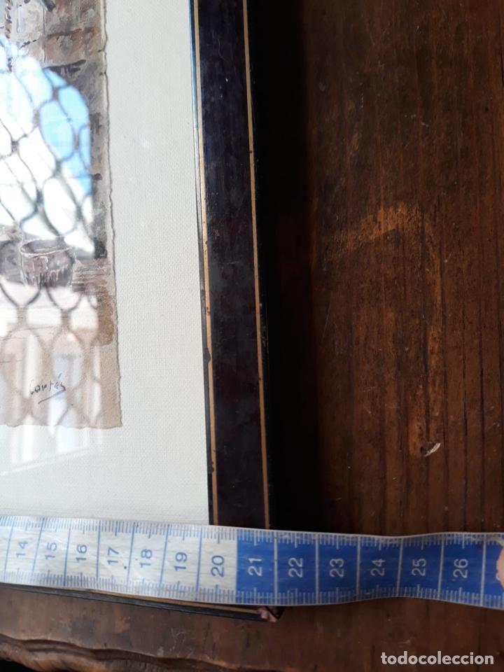 Arte: Acuarela de la campana mayor de la catedral de Murcia - firmada cortes - Foto 3 - 212052483
