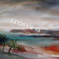 Arte: PAISAJE- ACUARELA SOBRE PAPEL DE J.MARFÁ GUARRO- DE SU COLECCION PARTICULAR. Lote 212100488