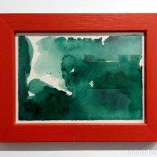 Arte: URSULA WENTZLAFF - ACUARELA. Lote 212194366