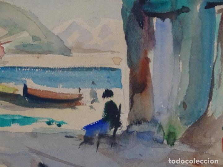 Arte: Acuarela de Joan fuster gimpera.l'estartit ? - Foto 4 - 212771731