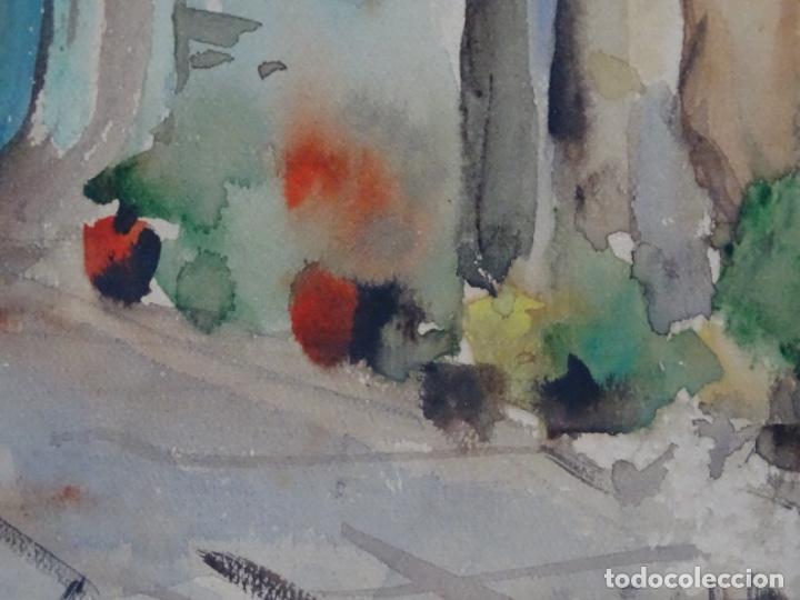 Arte: Acuarela de Joan fuster gimpera.l'estartit ? - Foto 5 - 212771731