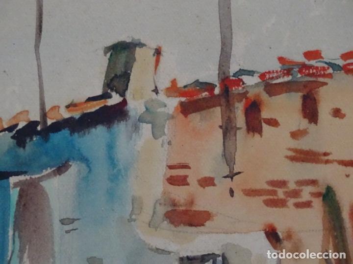 Arte: Acuarela de Joan fuster gimpera.l'estartit ? - Foto 6 - 212771731