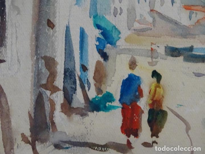 Arte: Acuarela de Joan fuster gimpera.l'estartit ? - Foto 7 - 212771731